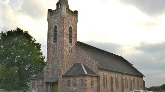 L'église de Caudescure