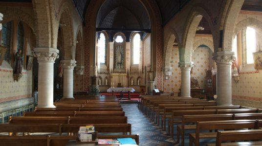 L'église du Steent'je: L'immaculée Conception